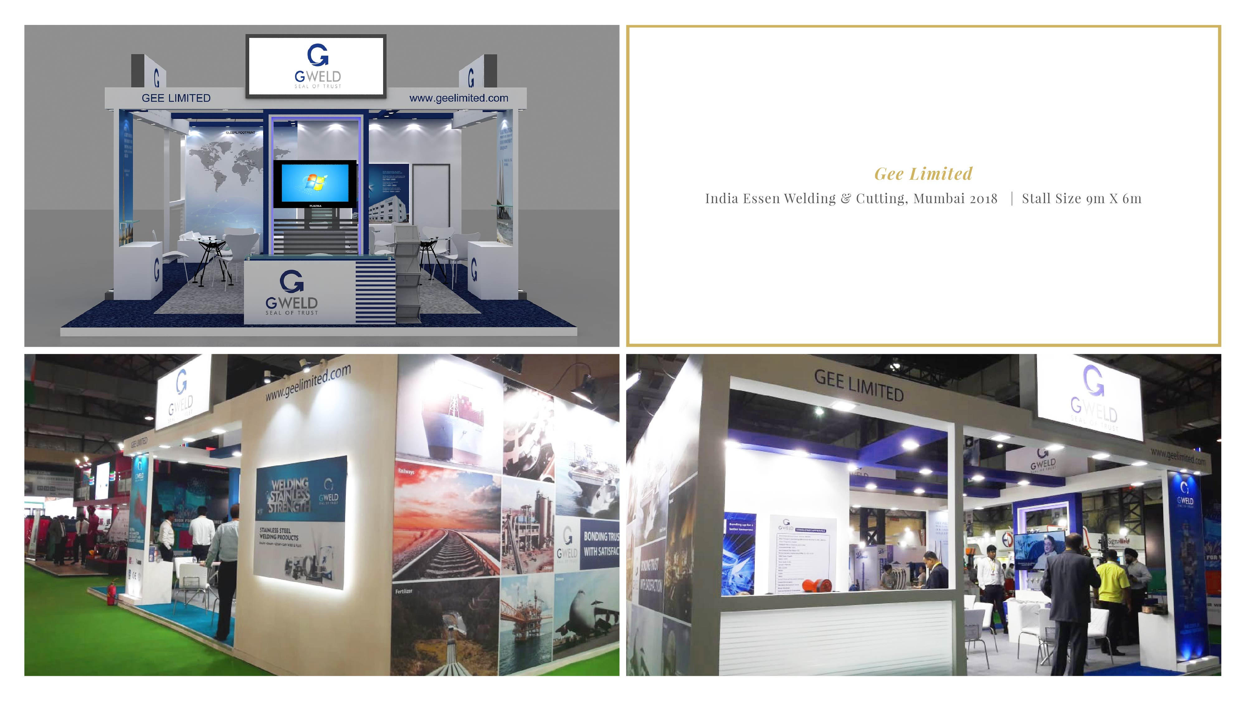 Gee Limited - India Essen Welding & Cutting 2018, Mumbai