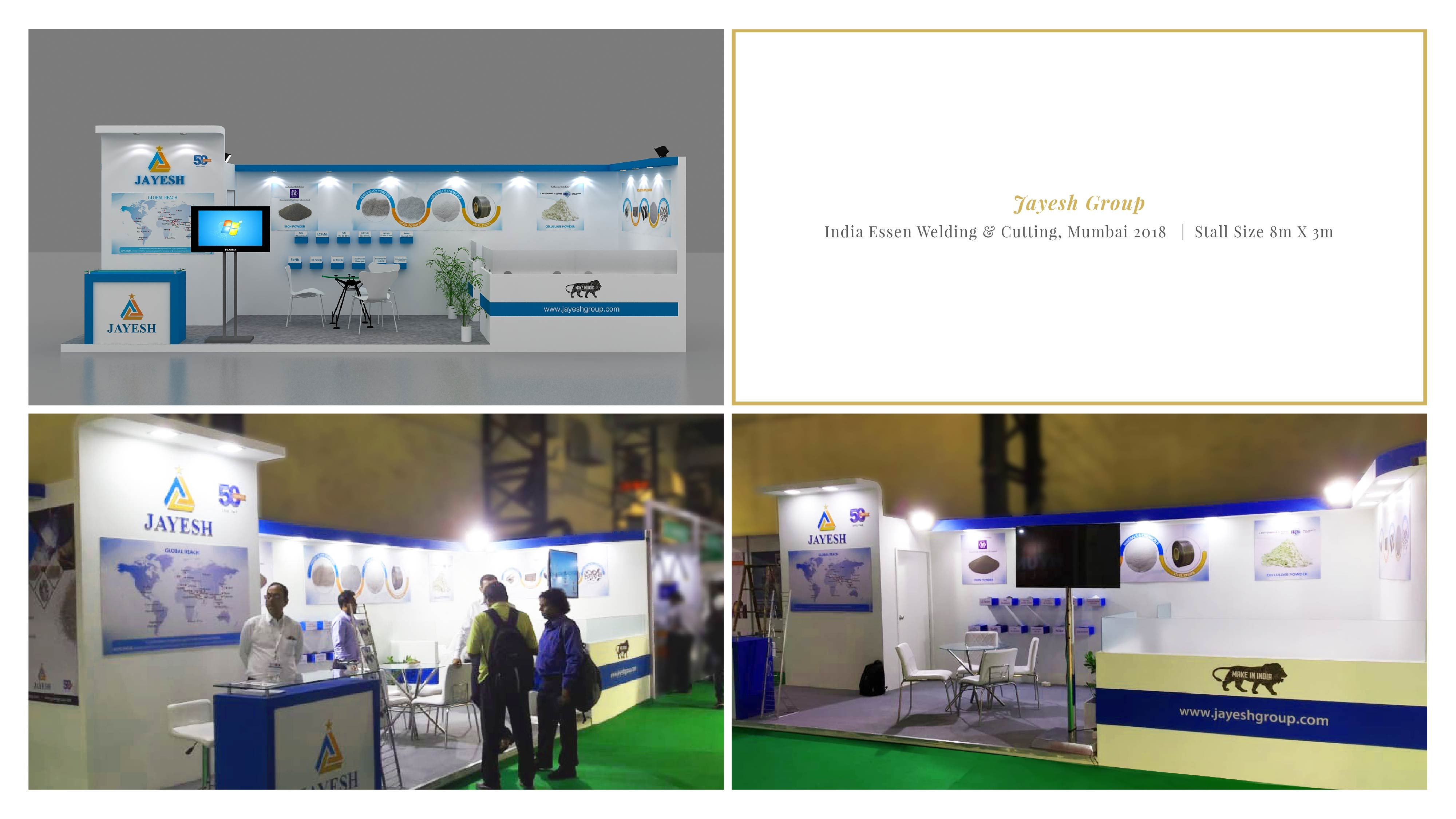 Jayesh Group - India Essen Welding & Cutting 2018, Mumbai