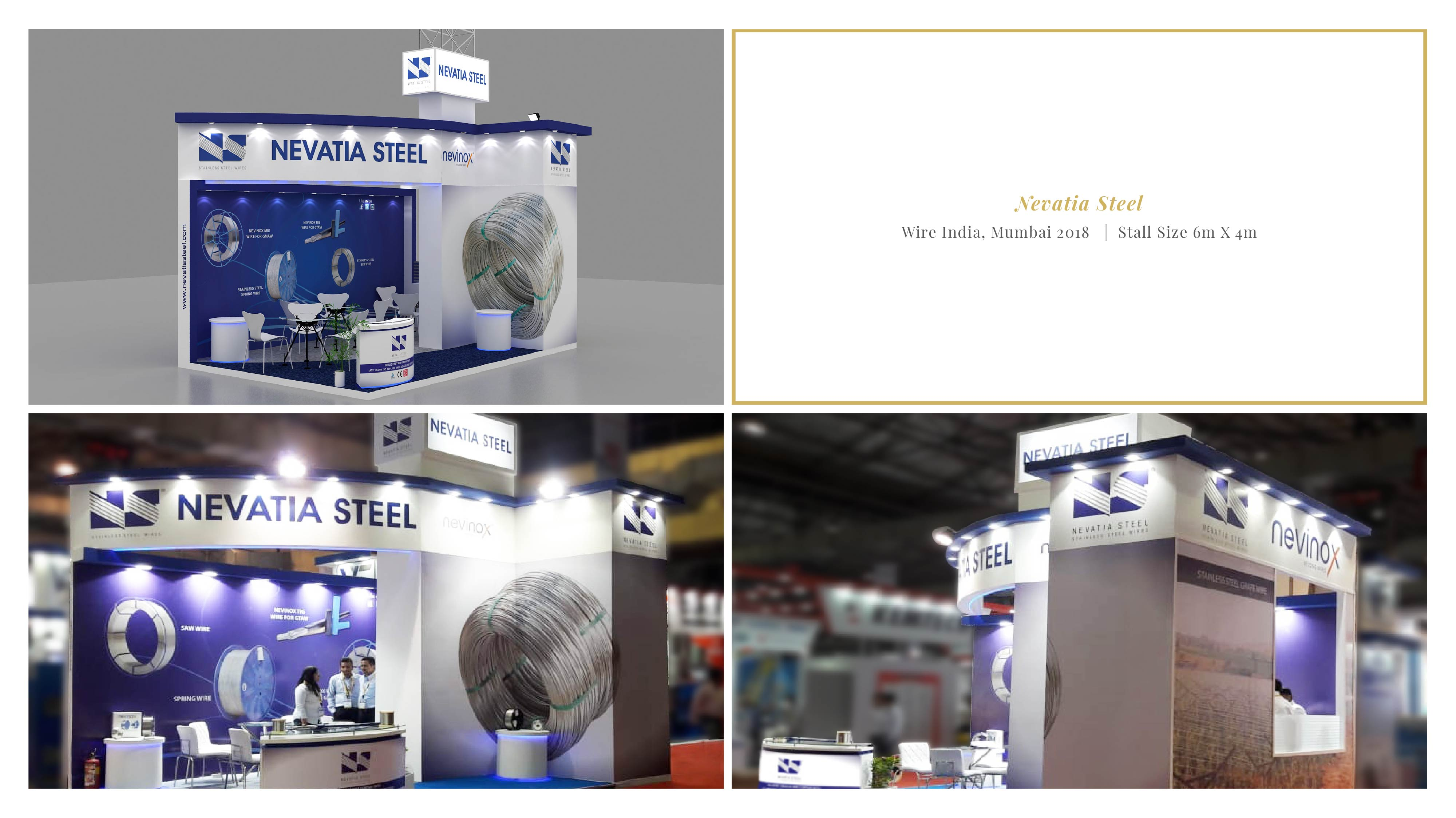 Nevatia Steel - Wire India 2018, Mumbai